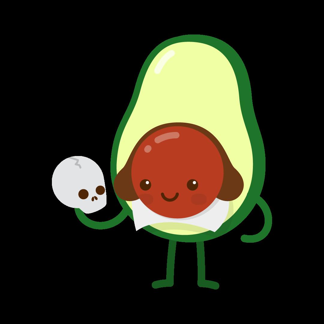 Avocado Life messages sticker-2