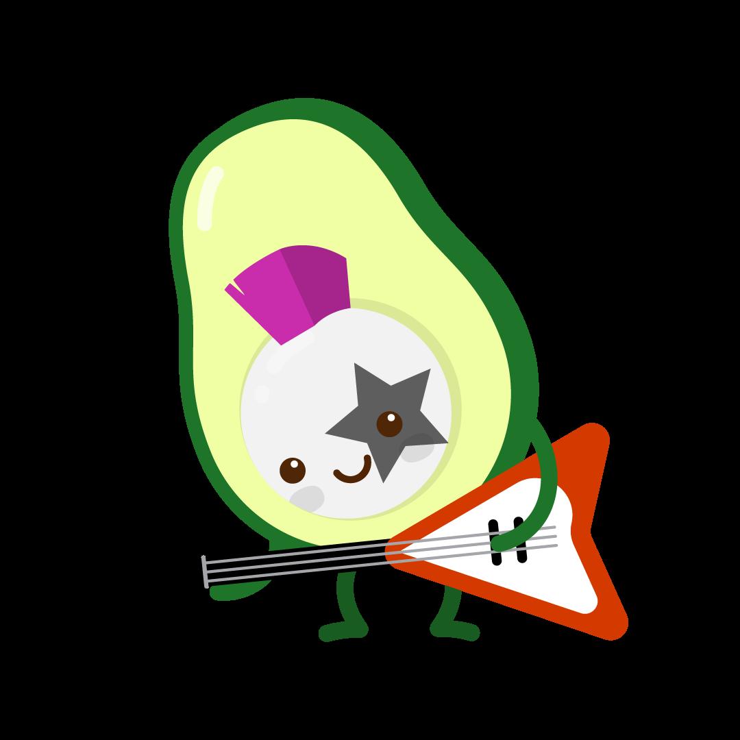 Avocado Life messages sticker-1