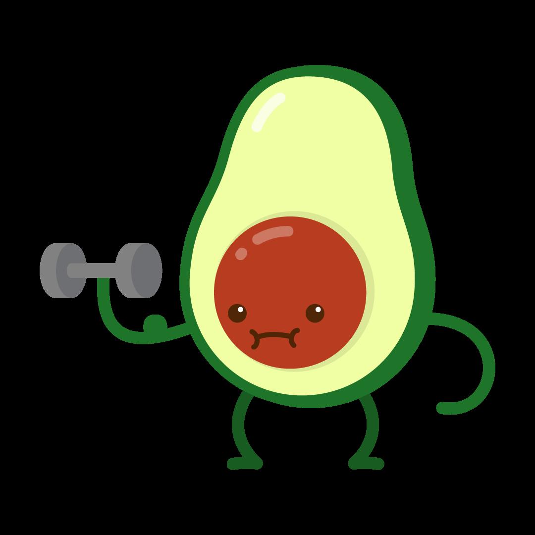 Avocado Life messages sticker-10