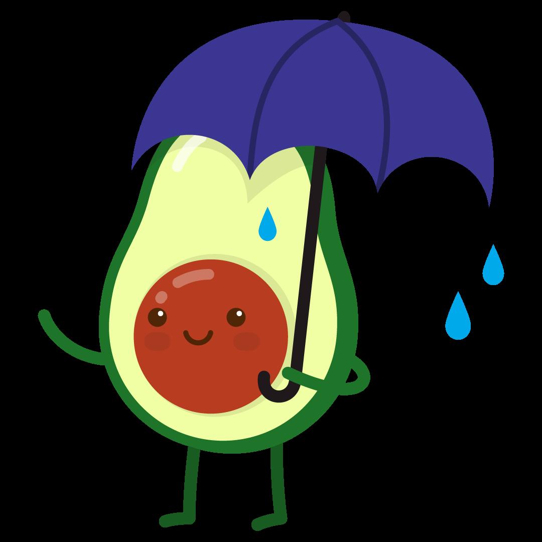 Avocado Life messages sticker-6
