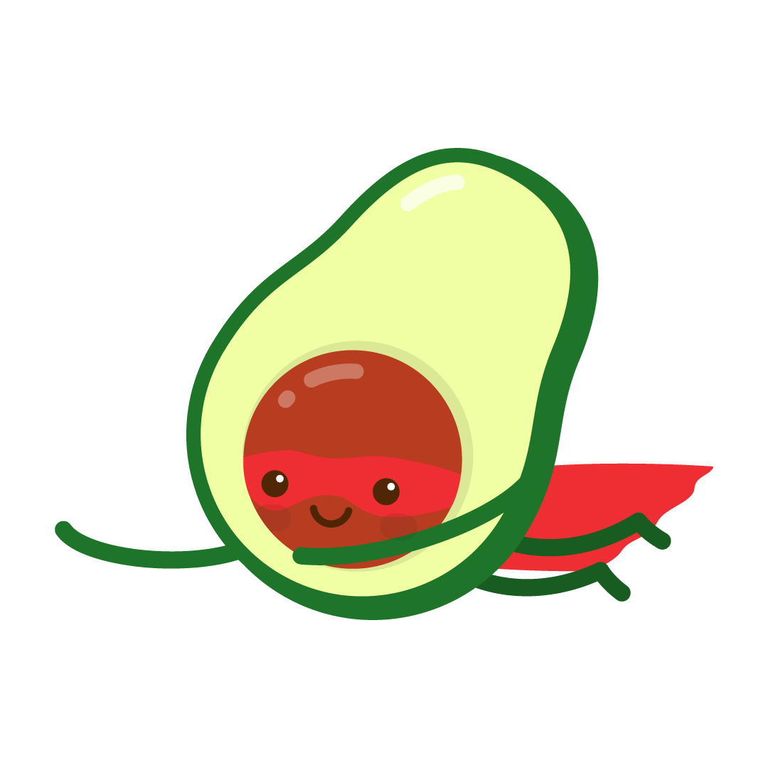 Avocado Life messages sticker-3
