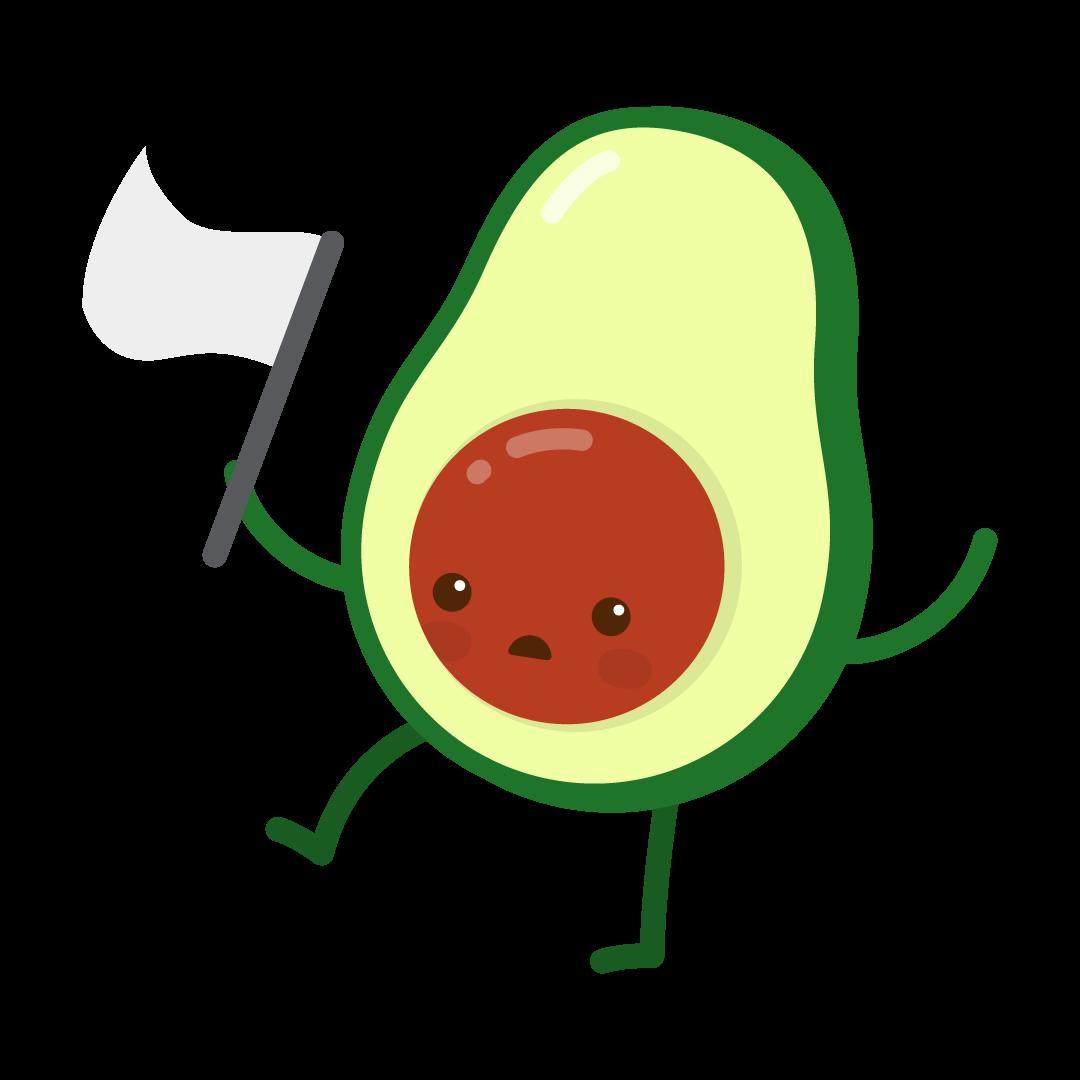 Avocado Life messages sticker-11