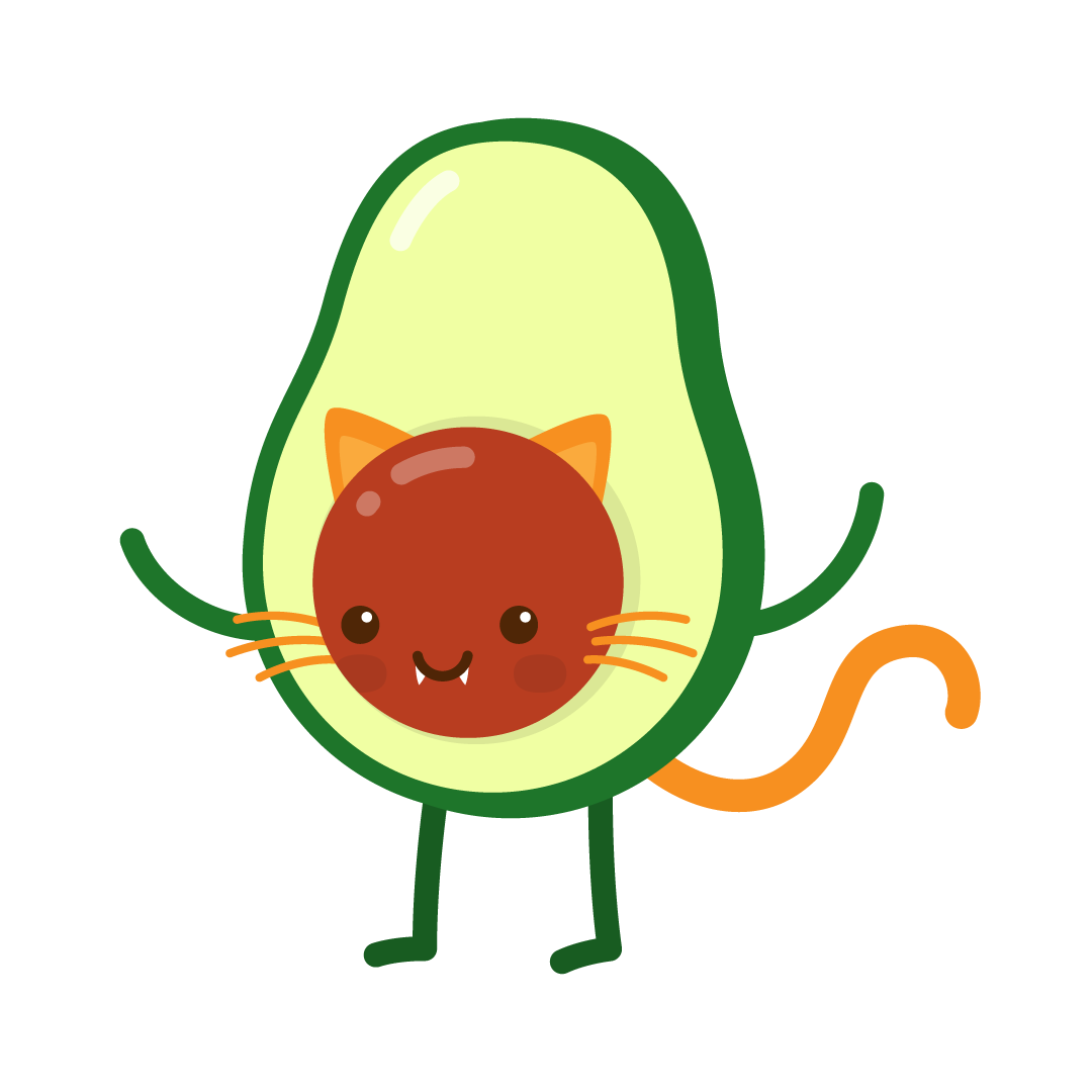 Avocado Life messages sticker-4