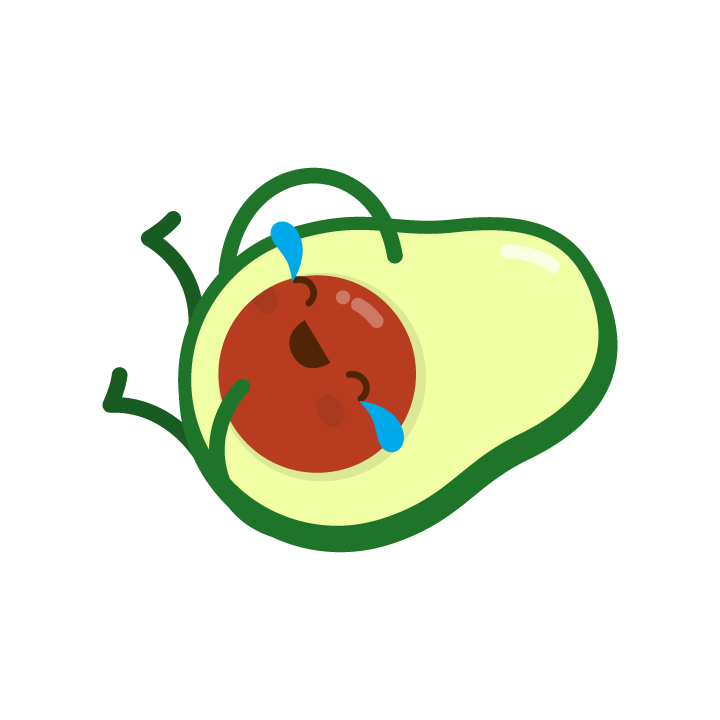 Avocado Life messages sticker-9