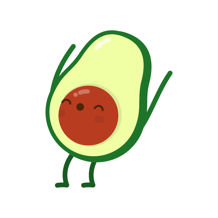 Avocado Life messages sticker-8