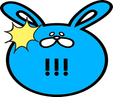 Face rabbit messages sticker-4