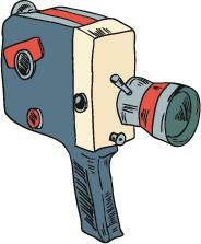 Vintage Cinema - Retro Movie Collection messages sticker-11