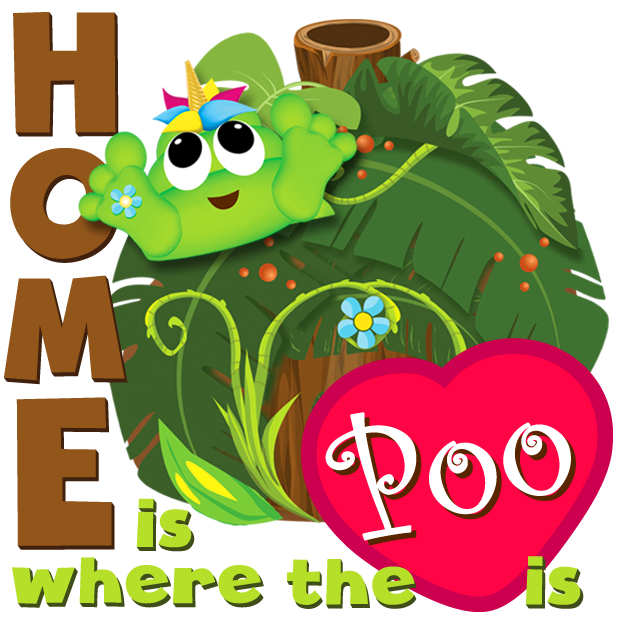 Poo-nicornicopia Stickers messages sticker-6