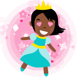 Princess Parachute messages sticker-3
