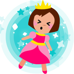 Princess Parachute messages sticker-11