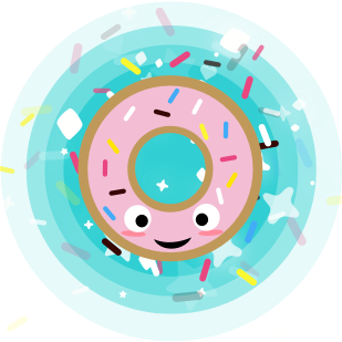 Candy Mountain: The Donut Fall messages sticker-0