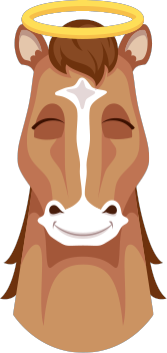 Horse Emojis messages sticker-7