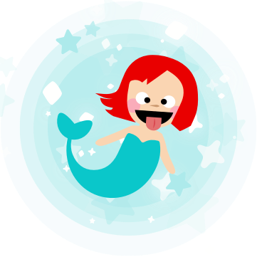 Mermaid Seaquest messages sticker-8