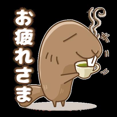 ビーバーくんステッカー messages sticker-4