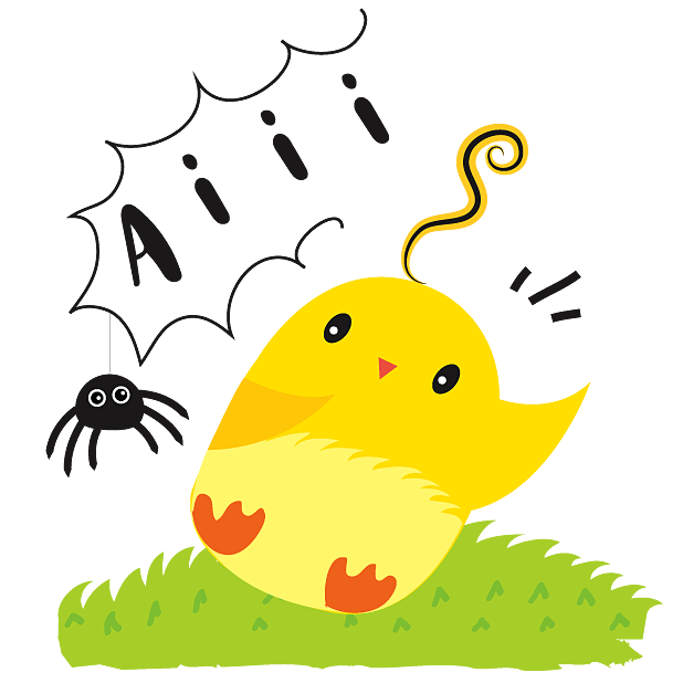 Cute Ming Cheep Stickers messages sticker-3