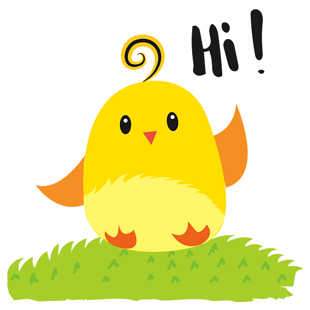 Cute Ming Cheep Stickers messages sticker-0