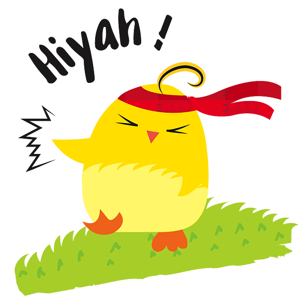 Cute Ming Cheep Stickers messages sticker-4