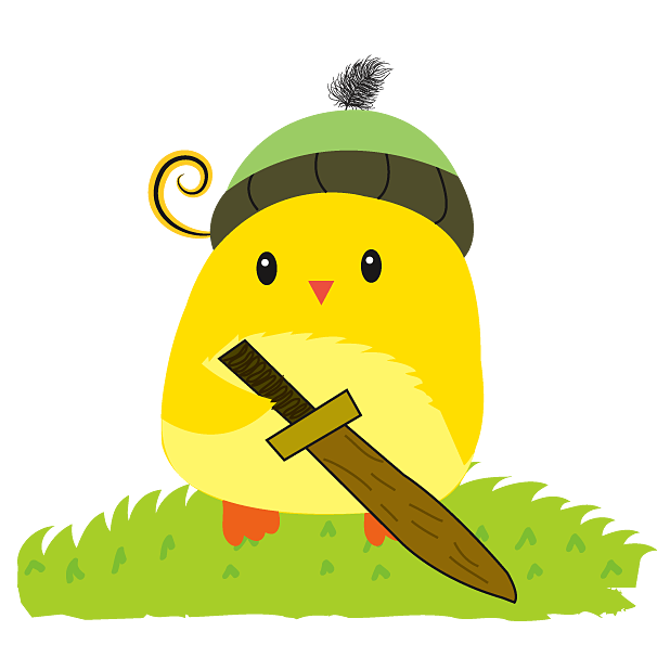 Cute Ming Cheep Stickers messages sticker-8