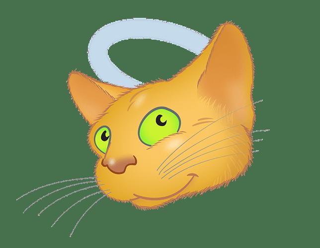 Golden Cat emoji messages sticker-9