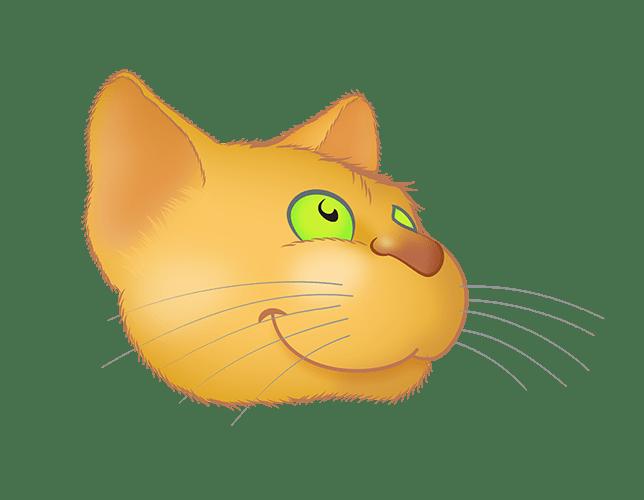 Golden Cat emoji messages sticker-10