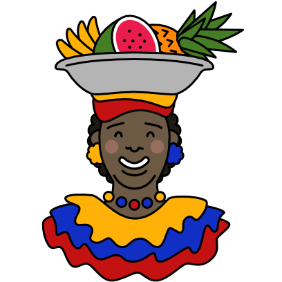Caribe Colombia Stickers messages sticker-5