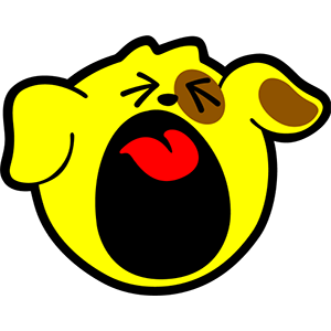 Smiley Dogs messages sticker-7