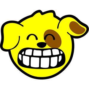 Smiley Dogs messages sticker-3