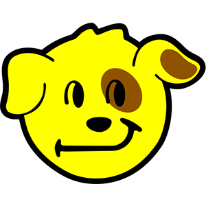 Smiley Dogs messages sticker-1