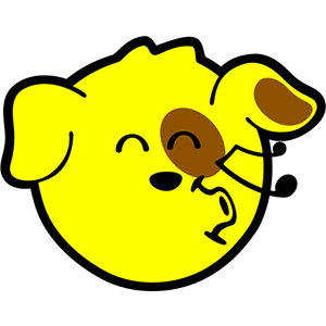 Smiley Dogs messages sticker-4
