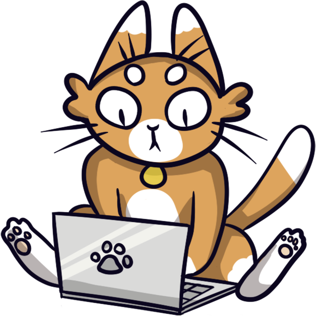 Geeky Kitty messages sticker-1