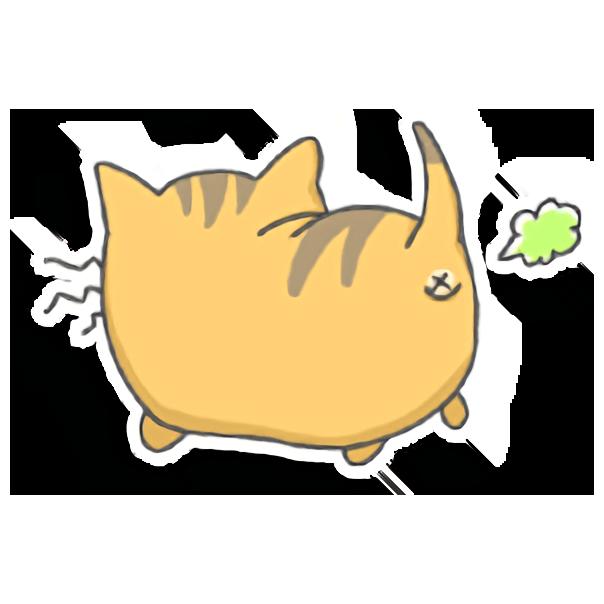Nekojima messages sticker-0