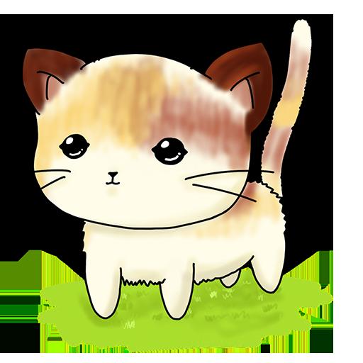 Nekojima - Collect Cute Cats messages sticker-1