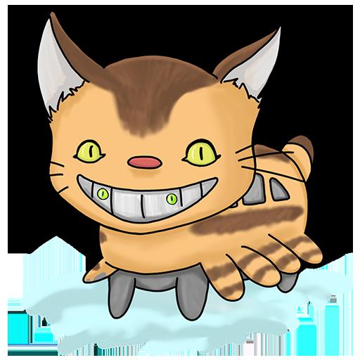 Nekojima: Cat Island Clicker messages sticker-3