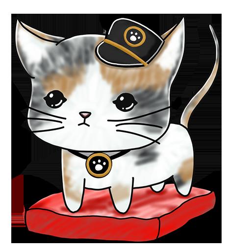 Nekojima: Cat Island Clicker messages sticker-2