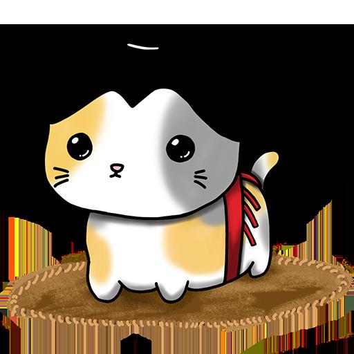Nekojima: Cat Island Clicker messages sticker-4