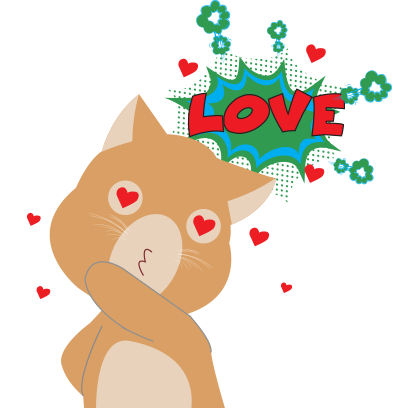 Sticker Lover Cat messages sticker-3
