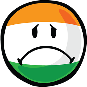 Indian Smiley Stickers messages sticker-10