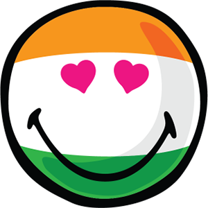 Indian Smiley Stickers messages sticker-9