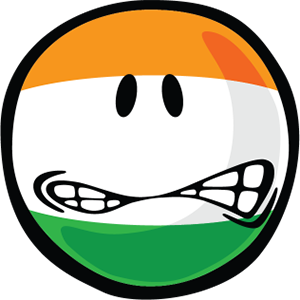 Indian Smiley Stickers messages sticker-8