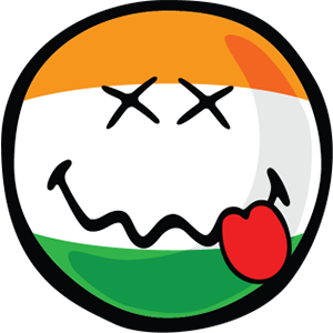 Indian Smiley Stickers messages sticker-5