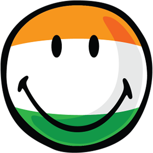 Indian Smiley Stickers messages sticker-0