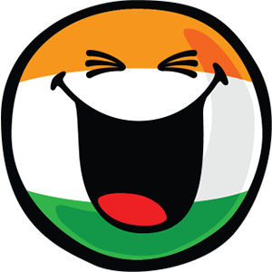 Indian Smiley Stickers messages sticker-1