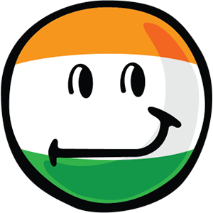 Indian Smiley Stickers messages sticker-2