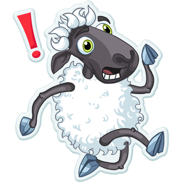 Sheep Frenzy 2 messages sticker-0