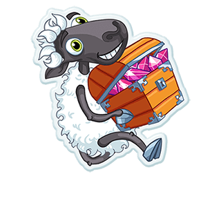 Sheep Frenzy 2 messages sticker-7
