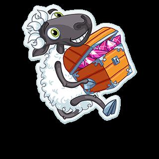 Sheep Frenzy 2 messages sticker-7