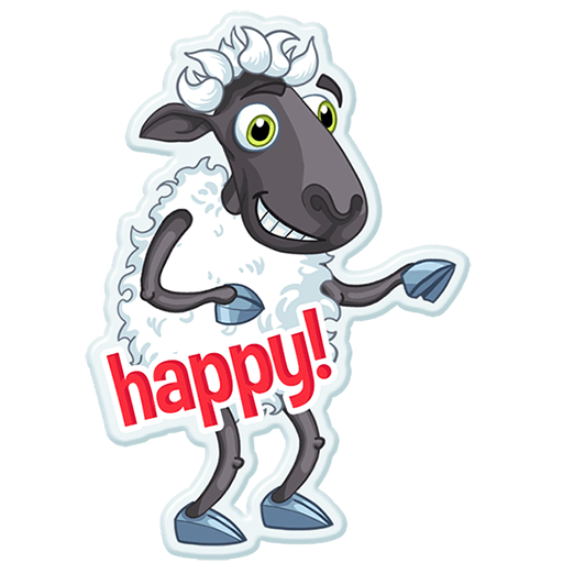 Sheep Frenzy 2 messages sticker-1