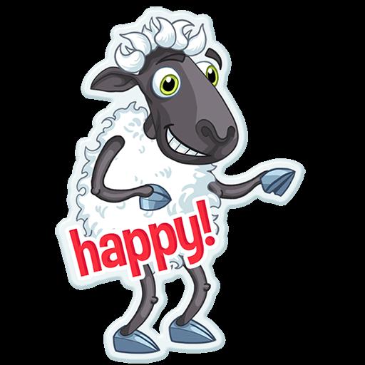 Sheep Frenzy 2 messages sticker-1