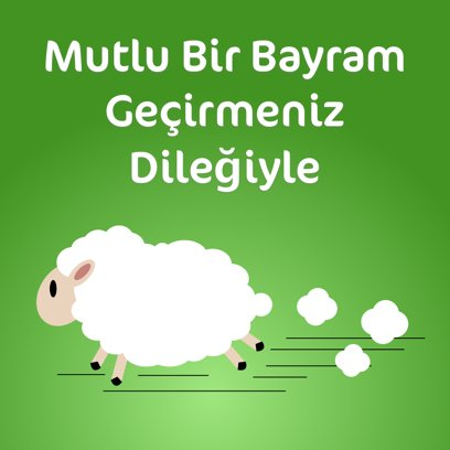 Kurban Bayramı Mesajı messages sticker-2