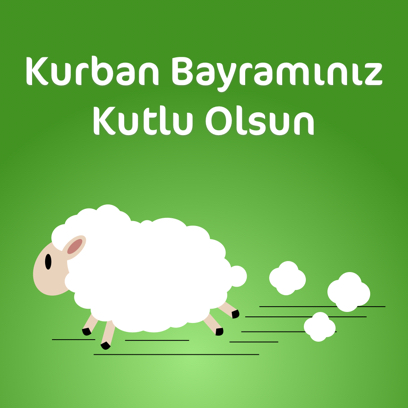Kurban Bayramı Mesajı messages sticker-0